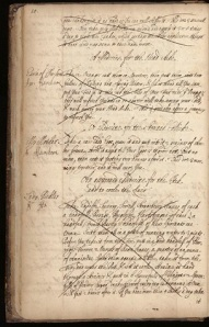A page from Wellcome Library MS 71113, p.10. See article by Elaine Leong at http://recipes.hypotheses.org/tag/lady-anne-fanshawe
