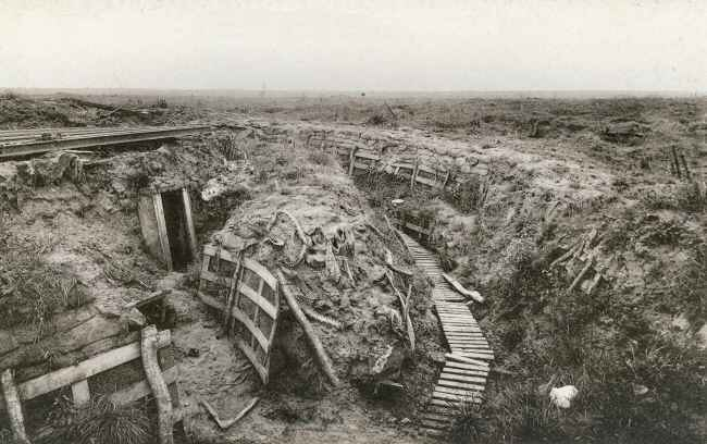 Zonnebeke Trenches