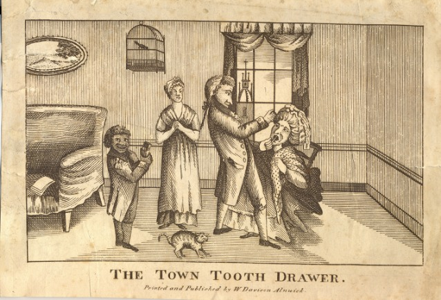Worems In The Teeth Toothache Dentistry And Remedies