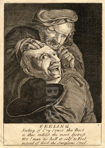 Barber-surgeon with Scared Patient
