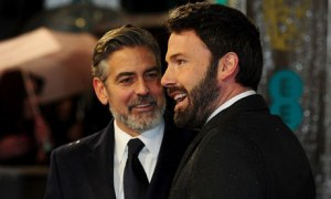 BAFTA Film Awards 2013 George Clooney Ben Affleck