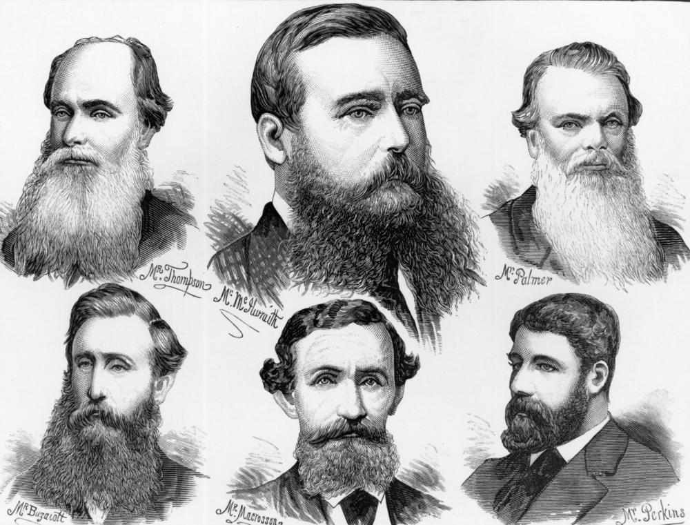 Victorian era facial hair styles